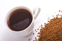 Picture of a cup of coffee Royalty Free Stock Image