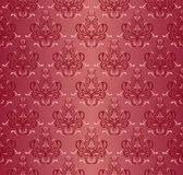 Damask seamless floral pattern. Royalty Free Stock Photos