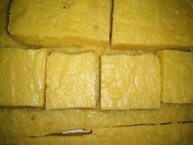 A picture of delicious Indian milky sweets royalty free stock photography