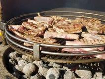 Spareribs barbecue Stock Photo
