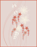 Picture design floral Stock Images