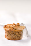 Picture of dessert. Close up picture of a dessert with spoon Stock Image