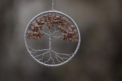 Picture of a dream catcher stock photos