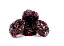 Picture of a Dried plums Stock Photography