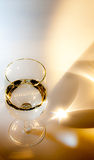 Drinking glass Royalty Free Stock Images