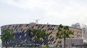 Picture of Dubai Arena, a multi-purpose venue in City Walk that is set to change the entertainment scene in Dubai. stock images