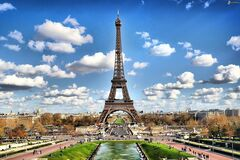 Picture of Eiffel Tower Royalty Free Stock Photo