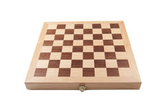 Empty chess board Royalty Free Stock Photography