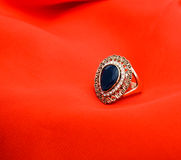 Picture of a Fashion ring Royalty Free Stock Images