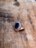 Picture of a Fashion ring Royalty Free Stock Image
