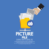 Picture File Storage. Stock Photos
