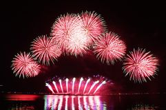 Fireworks bursting Royalty Free Stock Photos