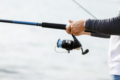 Picture of fisherman Royalty Free Stock Image