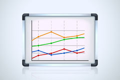 Picture of flip board 2 Royalty Free Stock Images