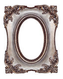 Picture Frame. Ornate picture frame, with oval opening Stock Images