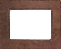 Picture Frame. Border isolated on a white background Royalty Free Stock Photography