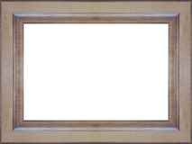 Picture-frame. From oakwood, computers assembly stock photography