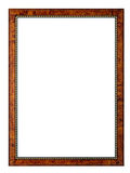 Picture frame. An empty frame, isolated on white Stock Photo