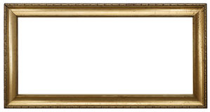 Picture Frame. In an Isolated Background Stock Photography