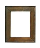 Picture frame. Vintage picture frame, wood frame Stock Image