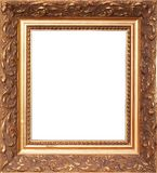 Picture frame. Shot of picture frame isolated with clipping path Stock Photo