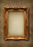 Picture frame. On the wall Royalty Free Stock Photo