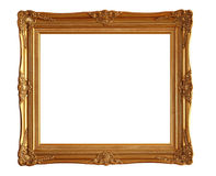 Picture frame. Isolated on white background Royalty Free Stock Image