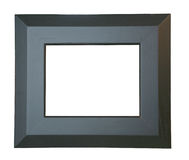 Picture frame. A simple rectangular wooden picture frame Stock Photography