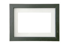 Picture frame. A simple rectangular wooden picture frame Stock Image