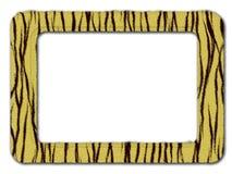 Picture frame. Tiger stripe picture frame Vector Illustration