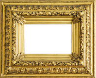 Picture frame. Picture antique frame with a decorative pattern Royalty Free Stock Photos