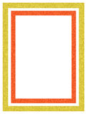 Picture frame. Illustrated frame Stock Photos