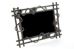 Picture frame. Empty picture frame isolated on a white background Royalty Free Stock Photography