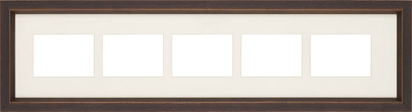 Picture frame. Art picture frames isolated on white Royalty Free Stock Photography