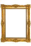 Picture frame. Beautiful picture frame with antique stucco Stock Images