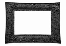 Picture Frame, Black Royalty Free Stock Photos