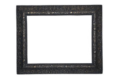 Picture Frame/Black/Antique Royalty Free Stock Photo
