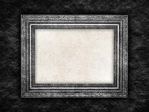Picture frame on black background Royalty Free Stock Image