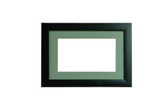 Picture frame black edge and gray. Stock Image