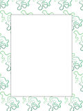 Picture frame or border. Modern picture frame or border made from hand made piece of puzzles Royalty Free Stock Photos