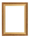 Picture frame with carved pattern Stock Photos