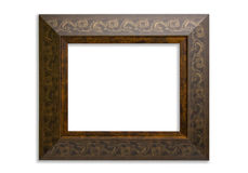Picture Frame with Clipping Path Royalty Free Stock Image