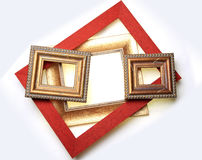 Picture Frame Collection Stock Photos
