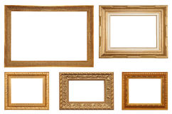Picture frame collection Royalty Free Stock Photos