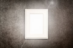 Picture frame on dark background Royalty Free Stock Photo