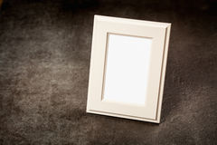 Picture frame on dark background Stock Images