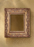 Picture frame with a decorative pattern Stock Photo