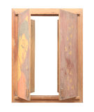 Picture frame design of wood Stock Image