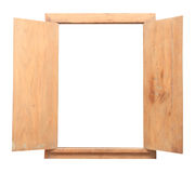 Picture frame design of wood Royalty Free Stock Photography
