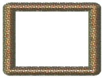 Picture frame generated isolated texture stock images